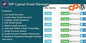 Hezecom Cpanel Email Manager – WordPress Plugin