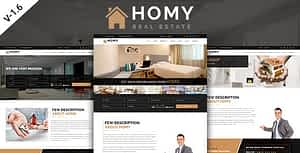 Homy – Real Estate  HTML Template