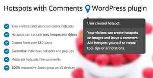 Hotspots with Comments – WordPress plugin