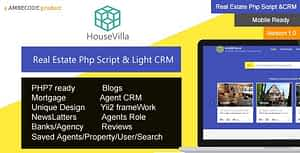 HouseVilla | Real Estate php script and CRM