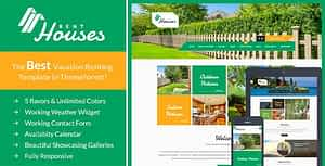 Houses – Vacation Rentals HTML Template