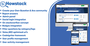 HowStack – Questions And Answers Plateform