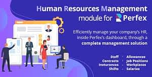 Human Resources Management – HR module for Perfex CRM