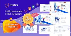 Hyipland – HYIP Investment HTML Template