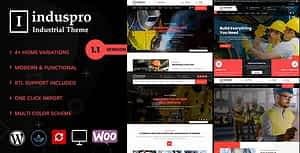 Induspro – Factory and Industrial WordPress Theme