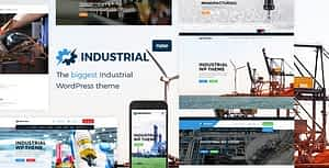Industrial – Factory Business WordPress Theme