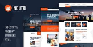 Indutri – HTML Template For Industry & Factory Business