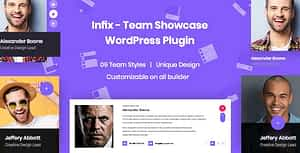 InfixTeam – Team Showcase WordPress Plugin