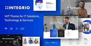 Integrio – IT Solutions and Services Company WordPress Theme