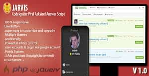 Jarvis – Ask & Answer Script – Sharing Site