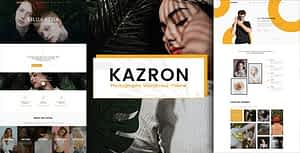 Kazron – Photography WordPress Theme