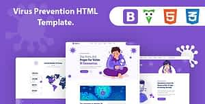 Korisna – Virus Prevention HTML Template