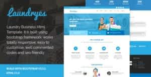 Laundryes – Laundry Business Html Template