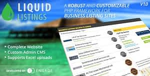Liquid Listings PHP Business Directory
