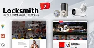 Locksmith – Security Systems WordPress Theme