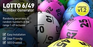 Lottery Number Generator – 6/49