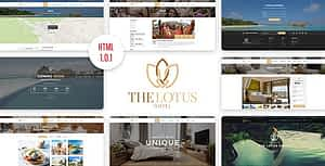 Lotus – Hotel Booking HTML Template