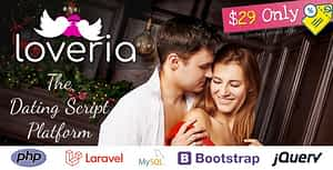 Loveria – The Ultimate & Awesome Laravel PHP Dating Platform | Script
