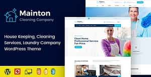 Mainton – Cleaning Services WordPress Theme