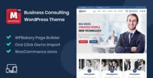 Majed – Business Consulting WordPress Theme