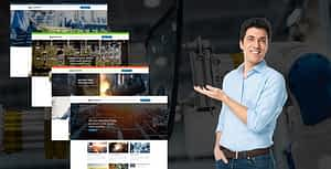 Manufacturing – Factory & Industrial WordPress Theme