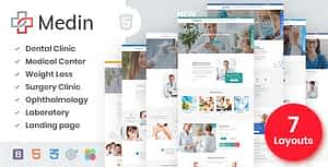 Medin – Medical Clinic HTML Template