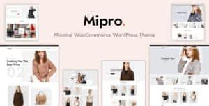 Mipro – Minimal WooCommerce WordPress Theme