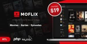 MoFlix – Ultimate PHP Script For Movie & TV Shows