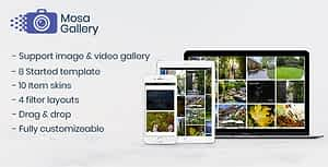 Mosa WordPress Gallery Plugin
