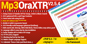 Mp3OraXtr – PHP Mp3 Search Engine