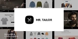 Mr. Tailor – eCommerce WordPress Theme for WooCommerce