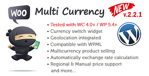 My Woo Multi Currency WordPress Plugin – WooCommerce Currency Switcher