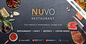 NUVO – Cafe & Restaurant WordPress Theme