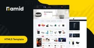 Namid – Electronics Store HTML Template