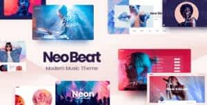 NeoBeat – Music WordPress Theme