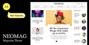 NeoMag – News and Magazine WordPress Theme