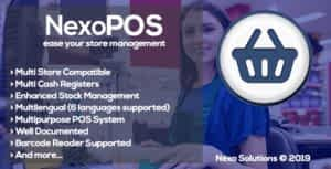 NexoPOS – Extendable PHP Point of Sale