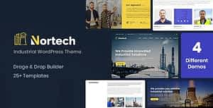 Nortech – A Industry and Engineering WordPress Theme