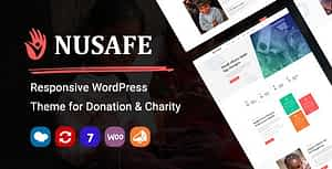 Nusafe   Responsive WordPress Theme for Donation & Charity