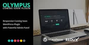 Olympus – Responsive Coming Soon WordPress Plugin