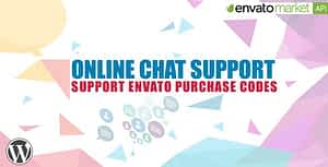Online Chat Support  – WordPress Plugin