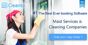 Online bookings management system for maid services and cleaning companies – Cleanto