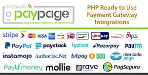 PayPage – PHP ready to use Payment Gateway Integrations