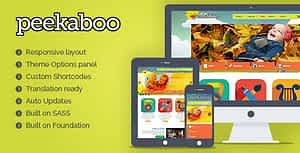Peekaboo – Children WordPress Theme