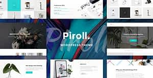 Piroll – Portfolio WordPress Theme