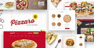 Pizzaro – Fast Food & Restaurant HTML template