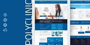 Polyclinic – Accessible Medical WordPress Theme