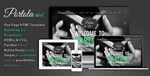 Portola – One Page HTML Template
