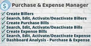 Purchase and Expense Manager