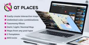 QT Places: Interactive Responsive Google Maps WordPress Plugin